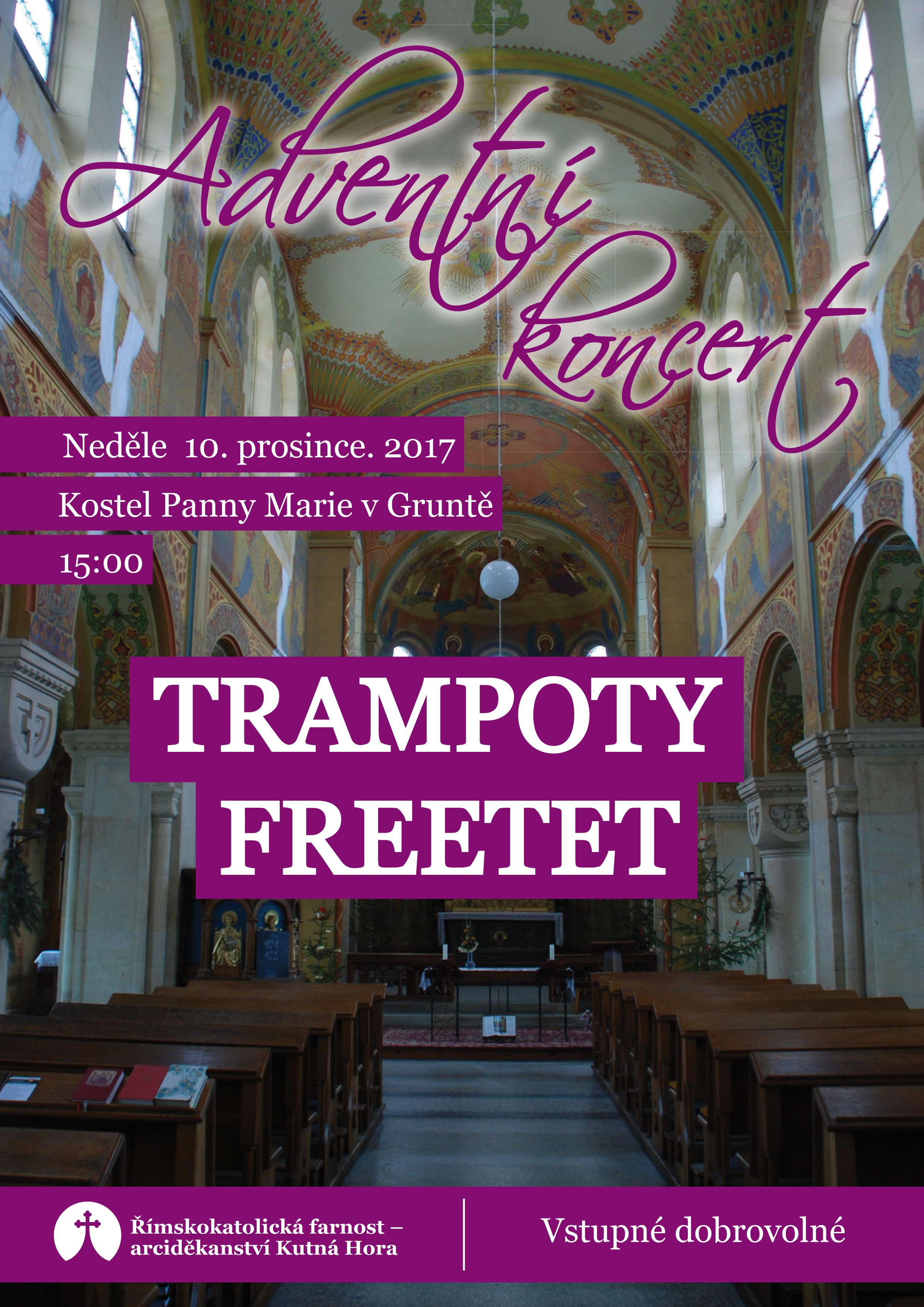 Adventní koncert v Gruntě